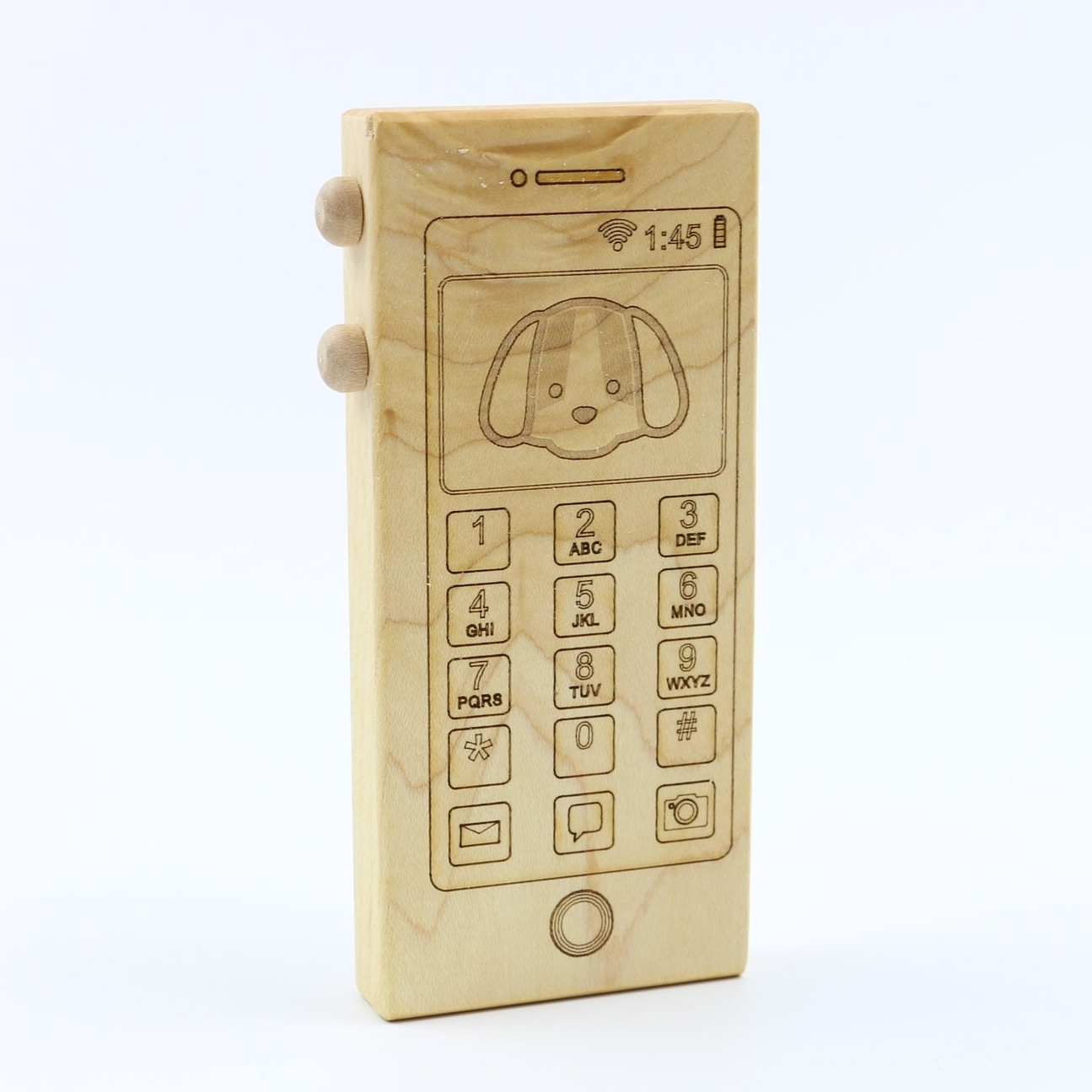 Wooden Toy Phone - Bannor Toys