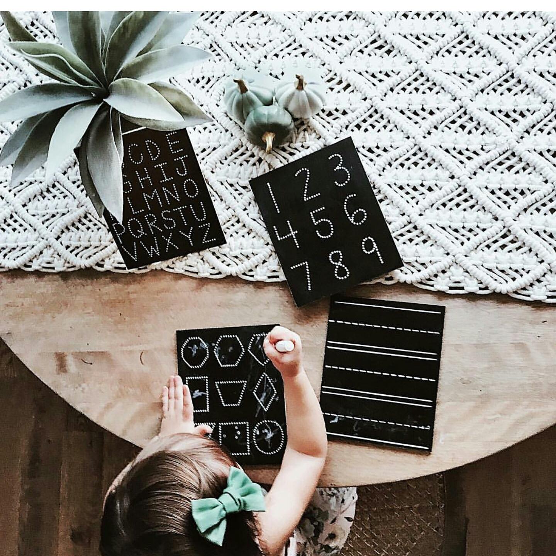 Trace-n-Erase Boards - Chalk Full of Design