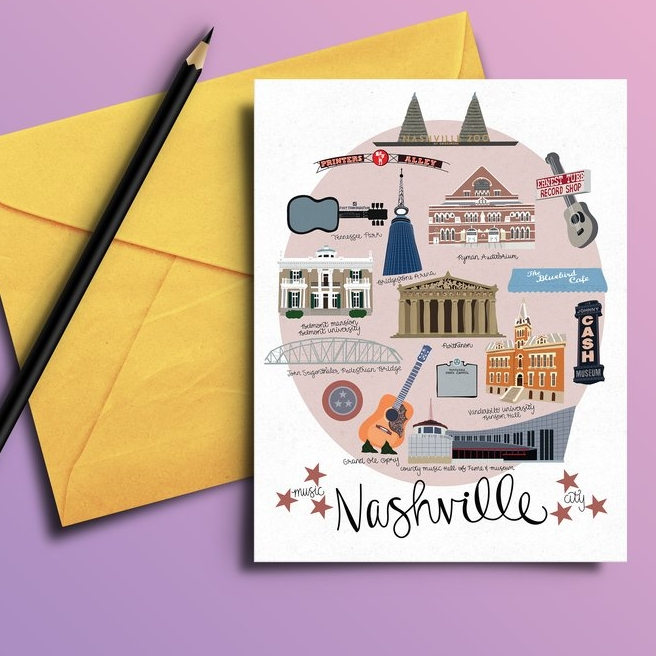 Lane Paper Works - Illustrations, maps, cards and more