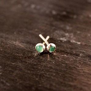 Gemstone Studs - Simply Chic Jewelry