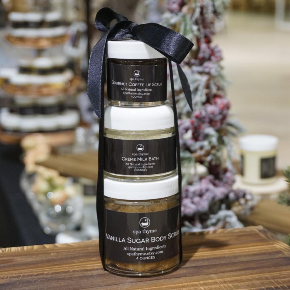 Body Coffee Gift Set - Spa Thyme