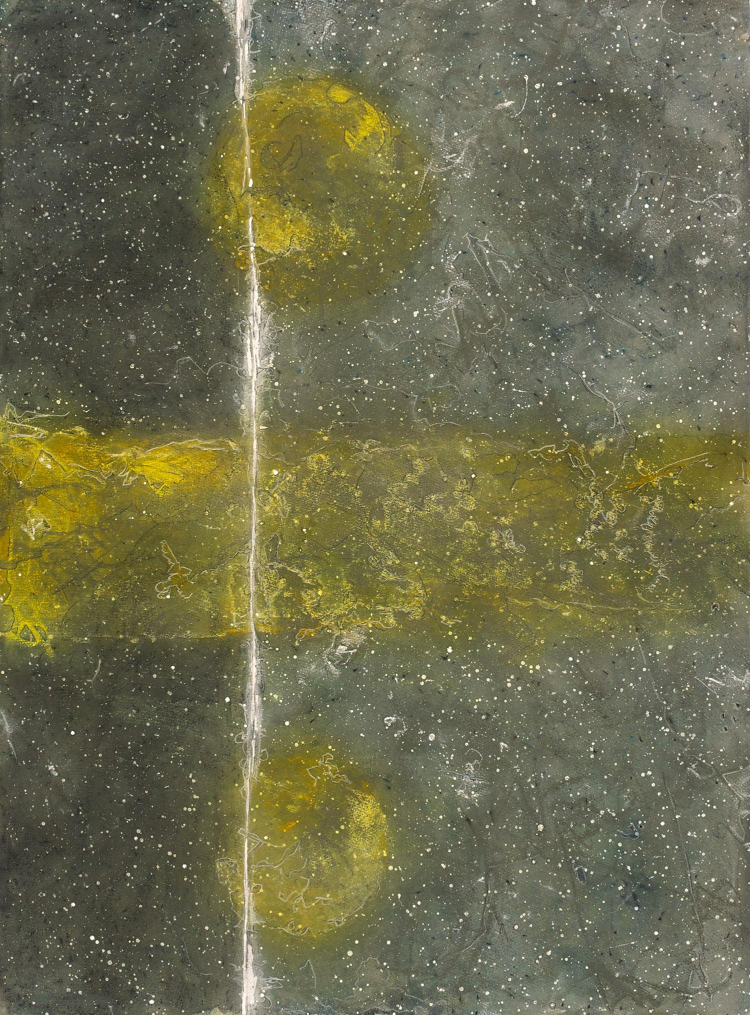 "GLADSTONE 2  watercolour, pastel and graphite on paper 2012 30"" x 22"""