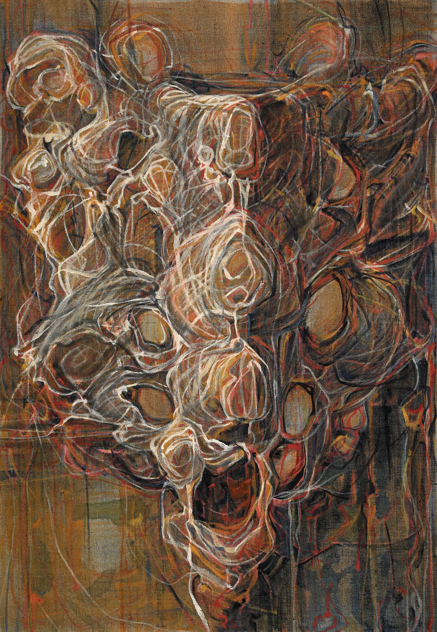 "SPADEWORK  26"" x 18"" oil on linen 2019"