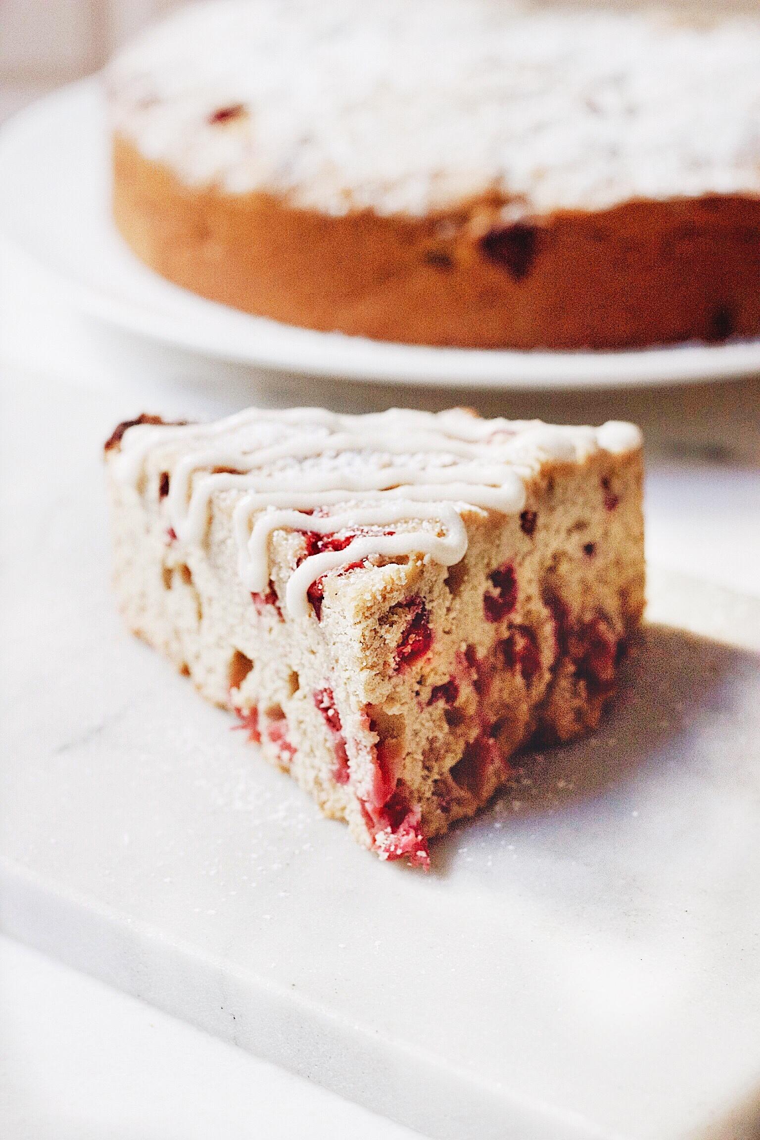Cranberry Streusel Cake