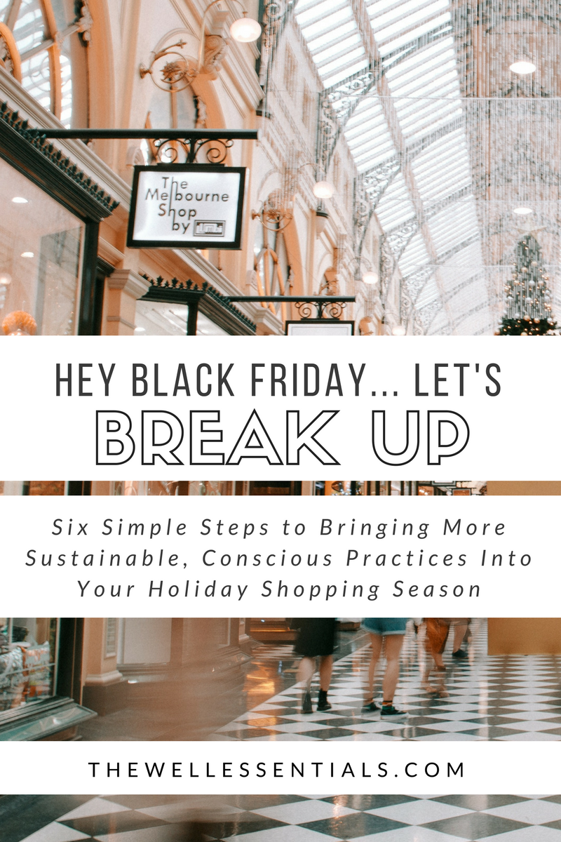 break up with black friday sustainable fashion