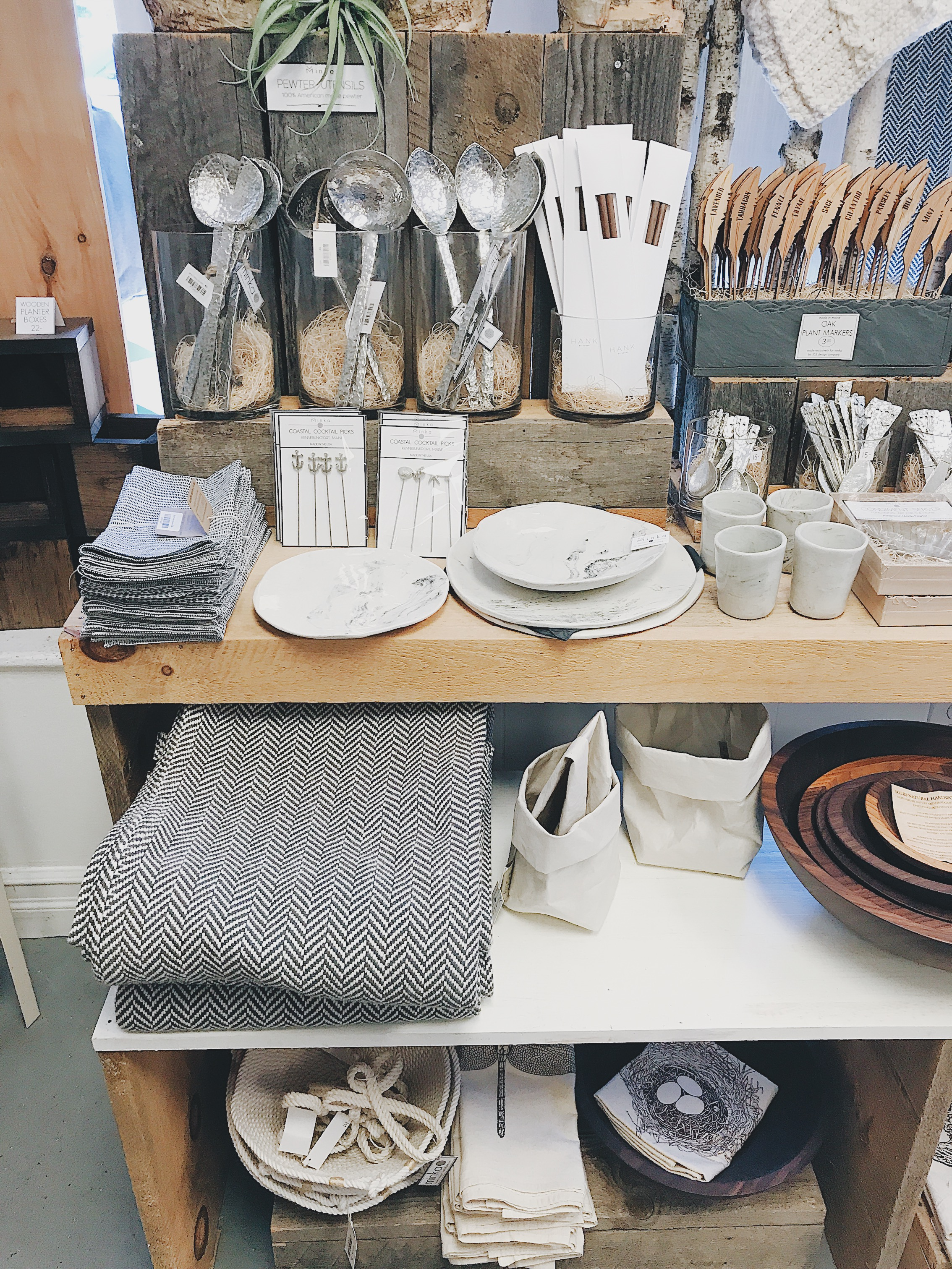 shop small and sustainable