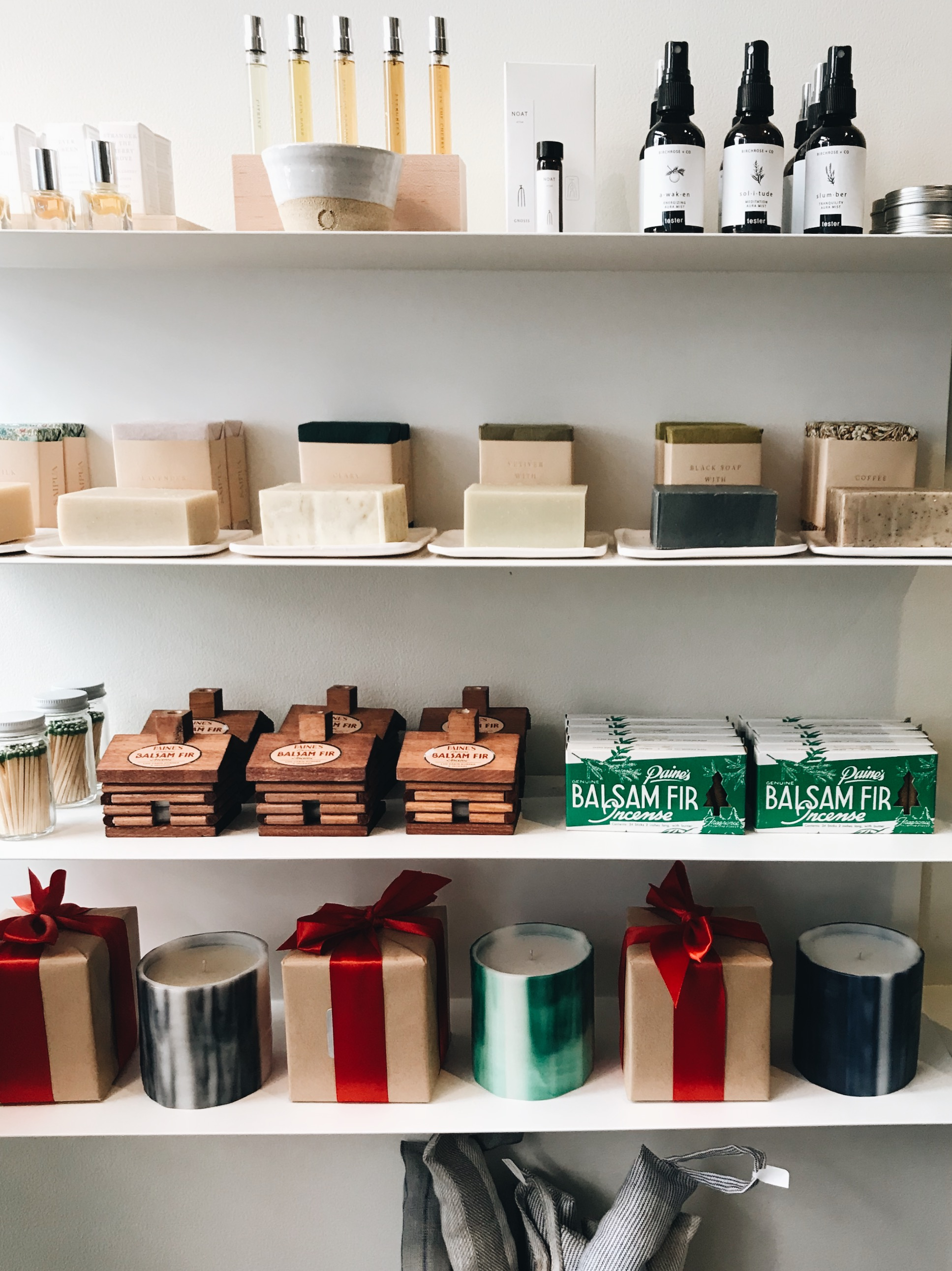 sustainable living gift guide - the well essentials