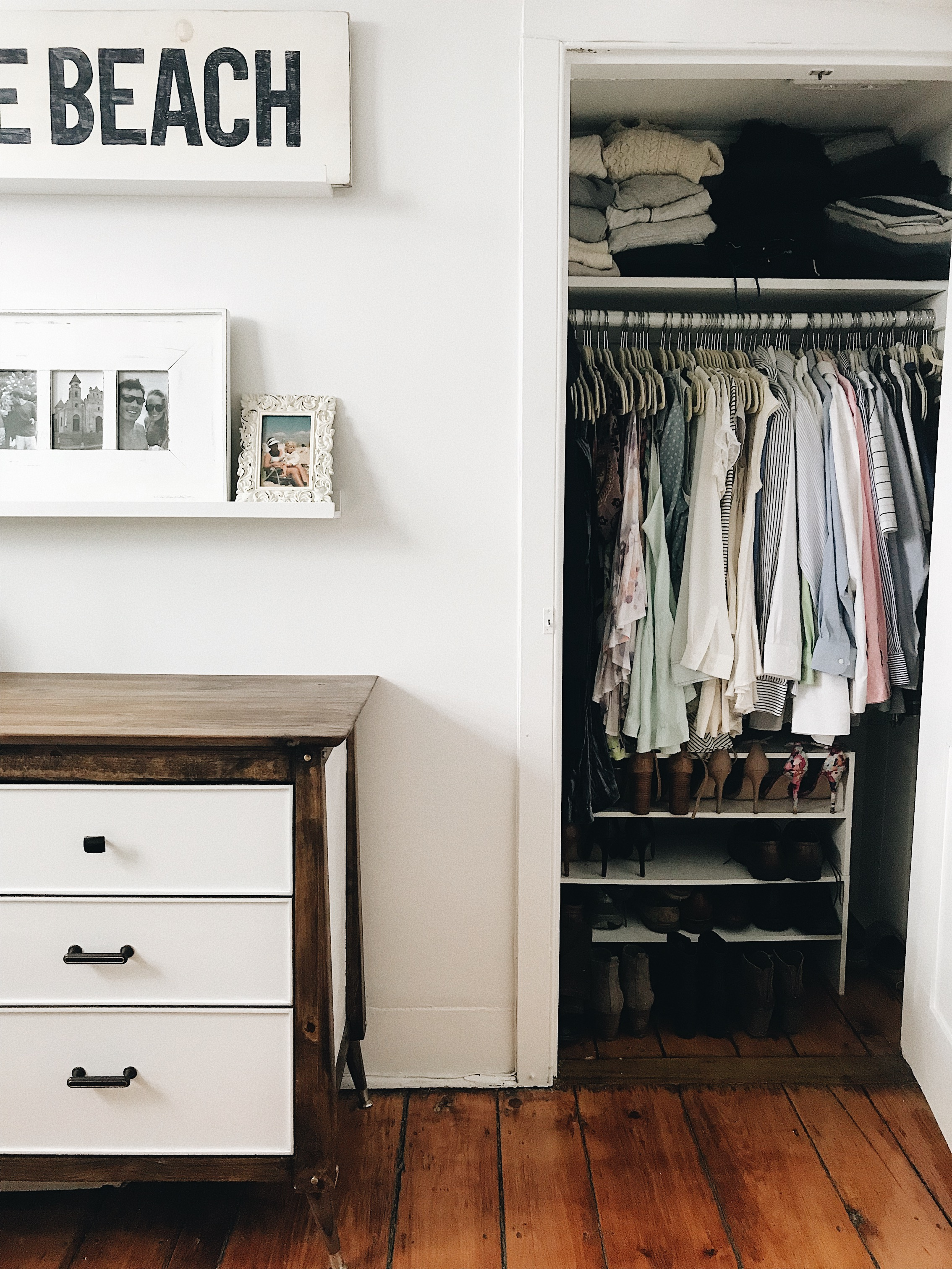 Creating a minimalist capsule wardrobe filled with clothes I love