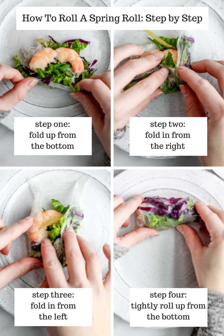 How To Roll A Spring Roll