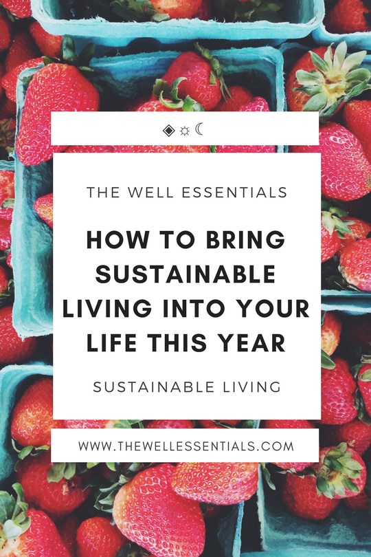 How to bring sustainable living into your life this year - the well essentials.png