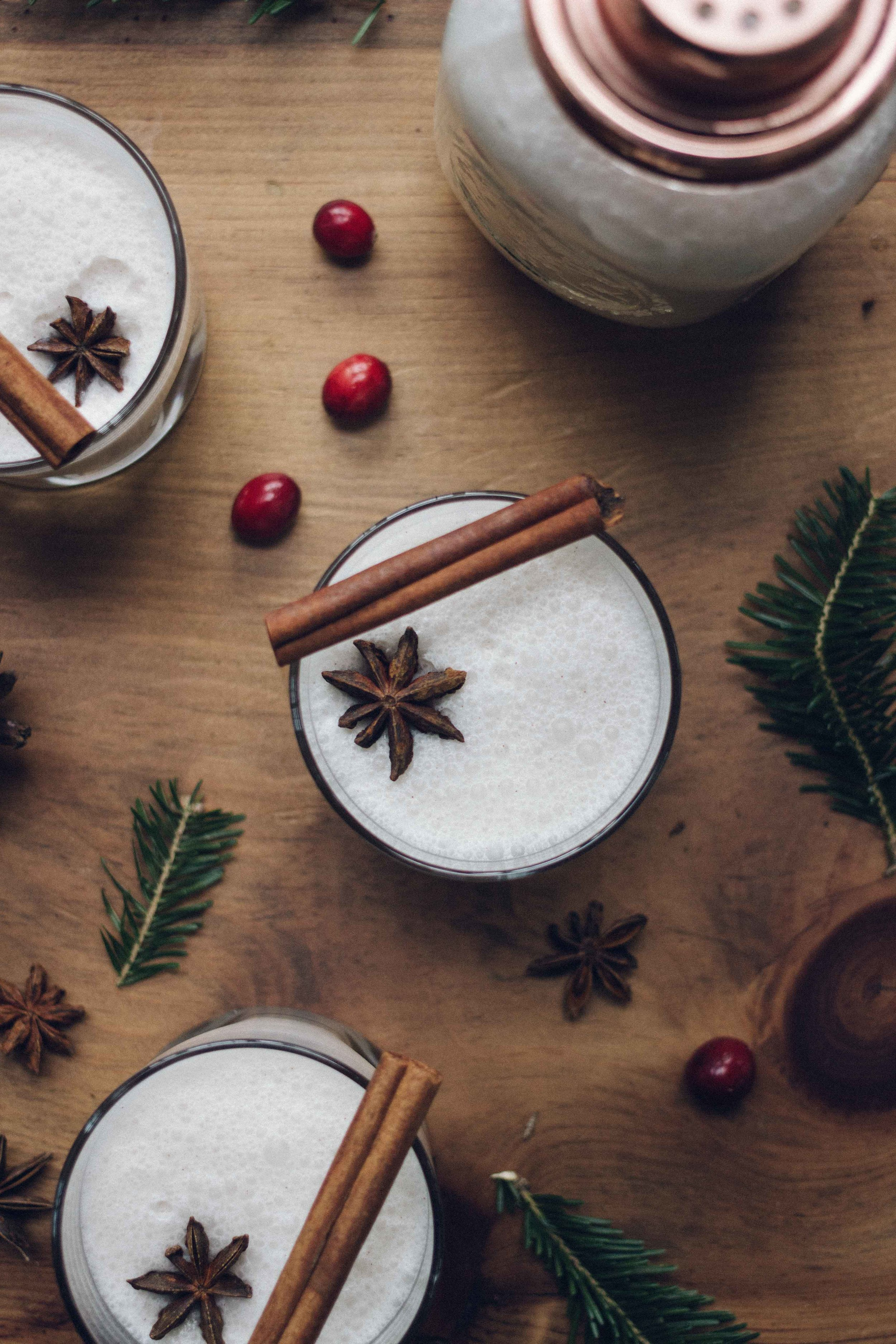 Puerto Rican Lactose Free Coquito - The perfect coconut Christmas cocktail to get you in the festive holiday spirit - The Well Essentials - #puertorico #christmas #holidaycocktails #coquito