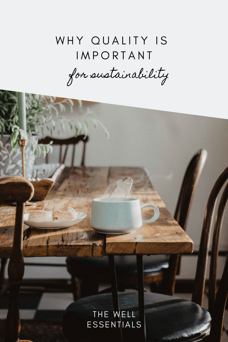 Sustainability Lifestyle and Vintage Home Decor - The Well Essentials
