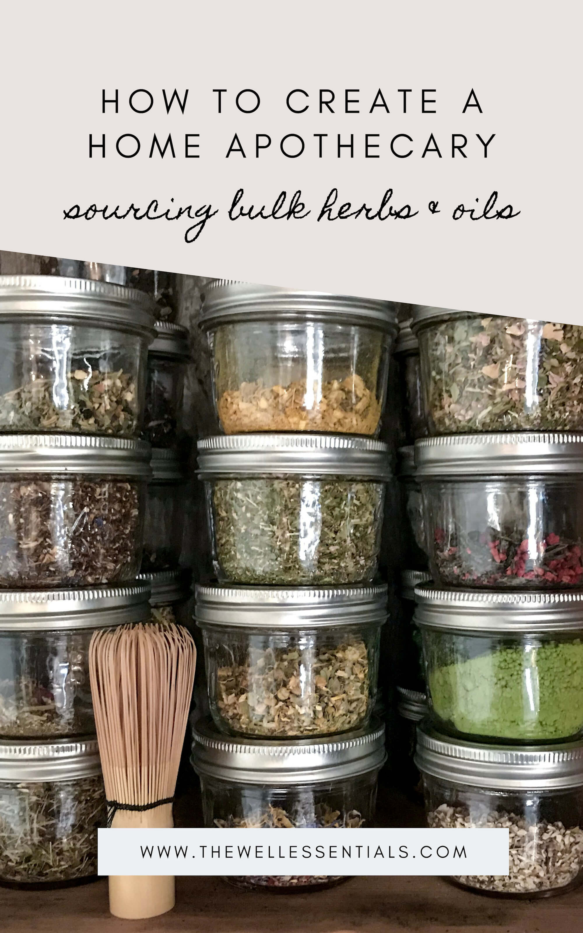 How To Create A Home Herbal Apothecary: Sourcing Bulk Spices and Herbs