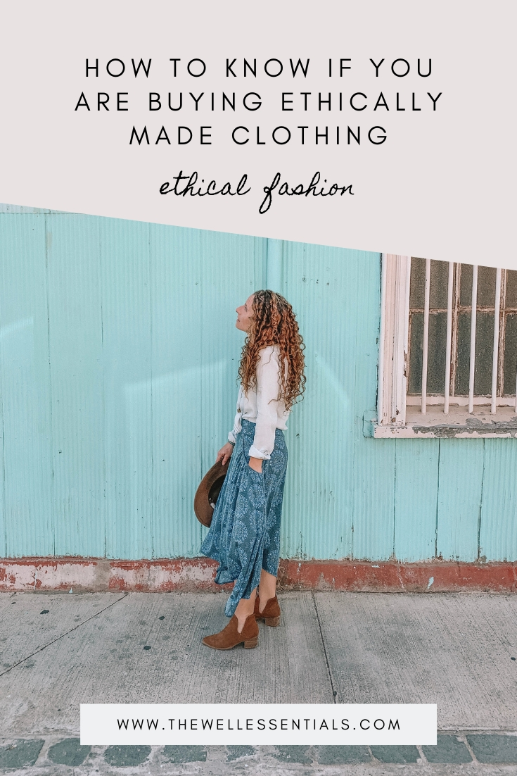 How To Know If You Are Buying Ethically Made Clothing & What To Look For