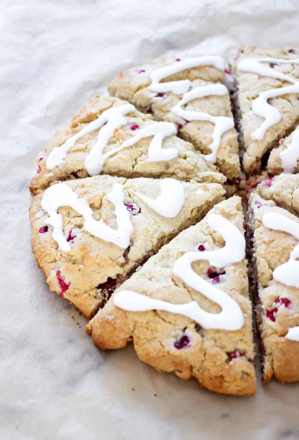THE BEST Gluten Free Scones Recipe (Lemon Cranberry)