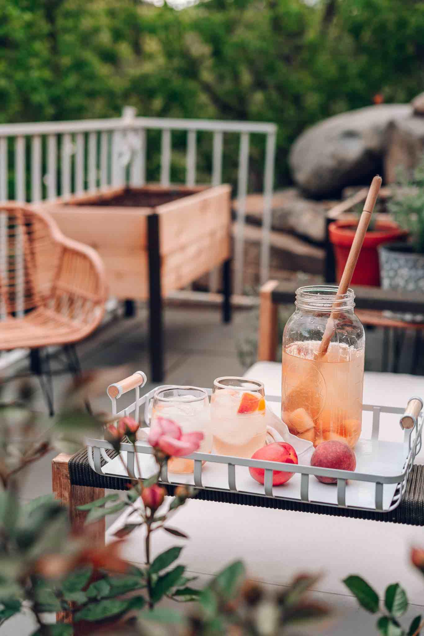 Mango Peach Easy Sangria Recipe Perfect For Hot Summer Days