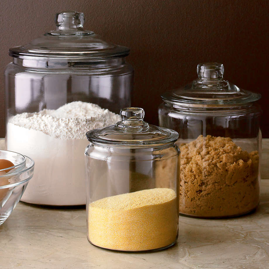 The Best Glass Jars For A Beautiful And Plastic Free Kitchen