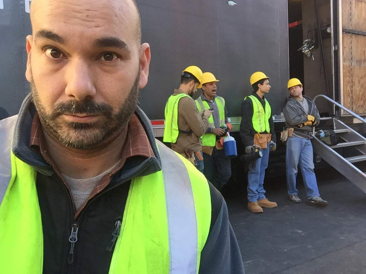 My construction crew on CSI:Cyber