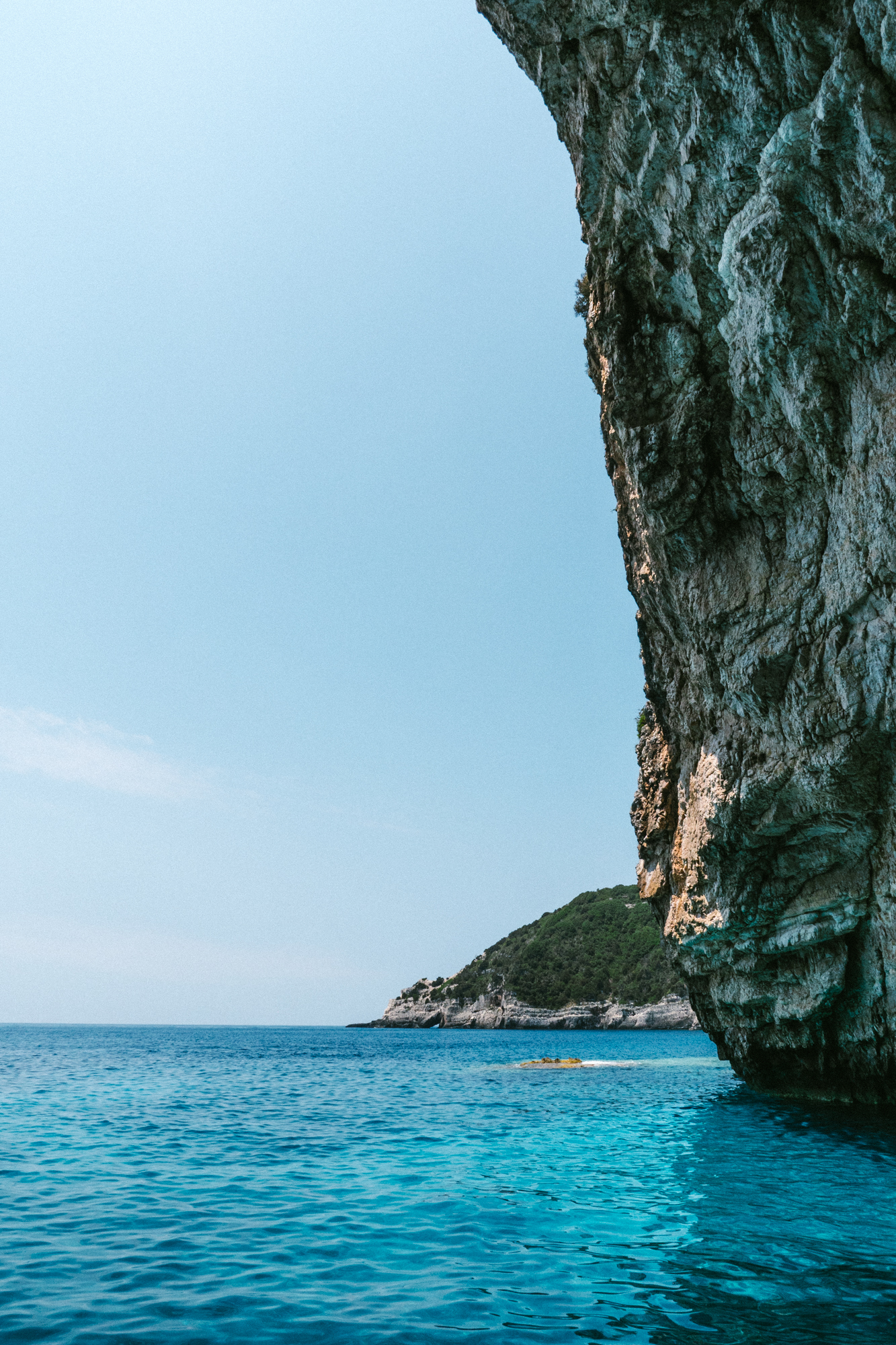 views from around paxos thanks to water escape boats for hire