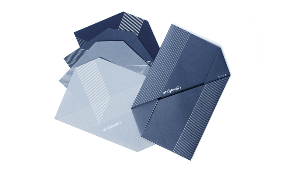 Self-folding Envelope, and Cards