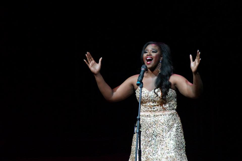 """Melessie won the Talent competition at the 2013 Miss Pennsylvania Scholarship Pageant with her  performance of """"And I Am Telling You (I'm Not Going)"""" from  Dreamgirls."""