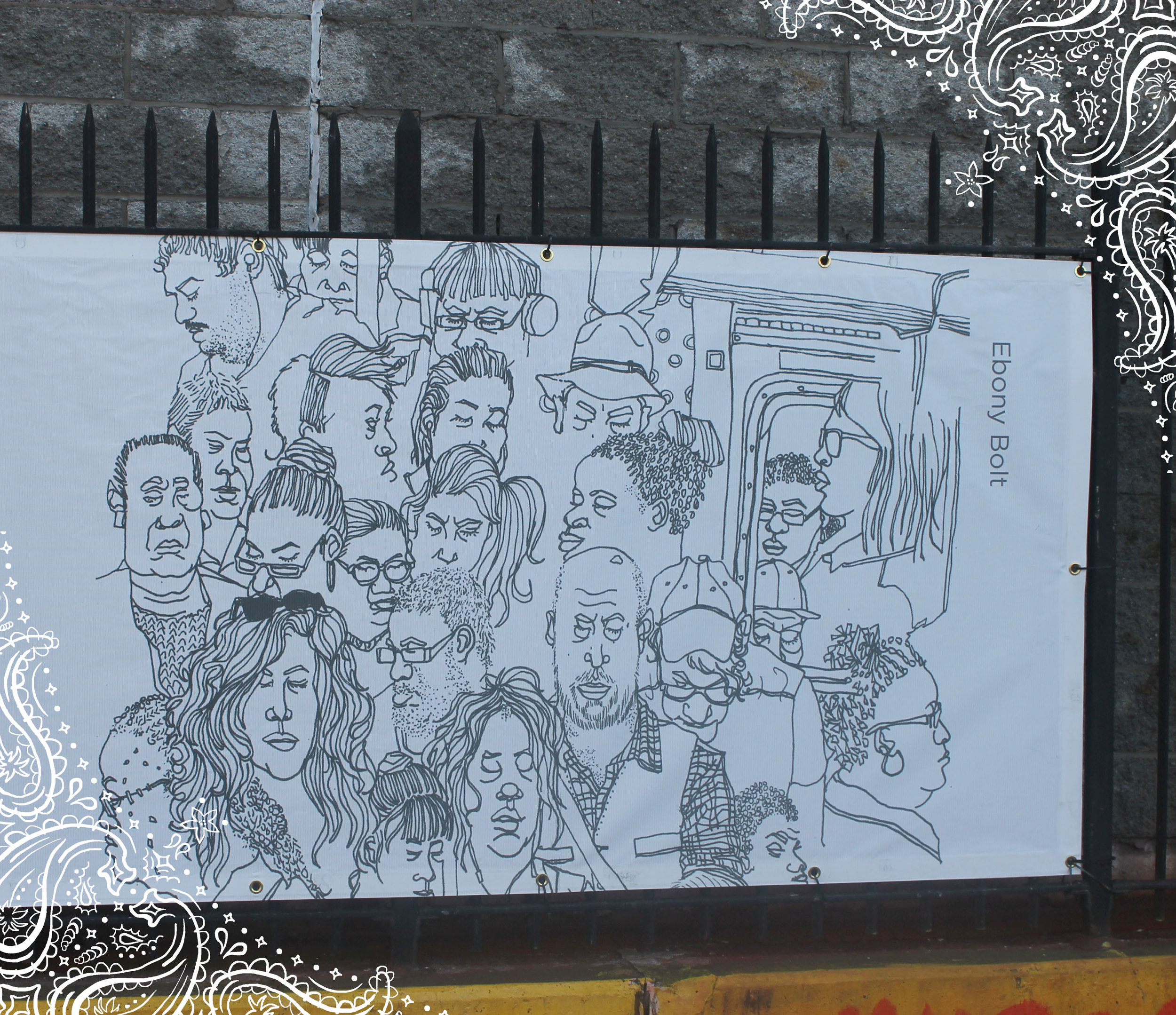 Artbridge: Brownsville Matters (2017-2018)   Brownsville Matters was created by the organization Artbridge. The idea of the exhibition was to create pieces that reflected the community in which the works would be displayed. You can find 6 of my pieces on display at 30 Belmont Avenue in Brownsville Brooklyn from (01/25/17)-(01/25/18). Click the image for more details.