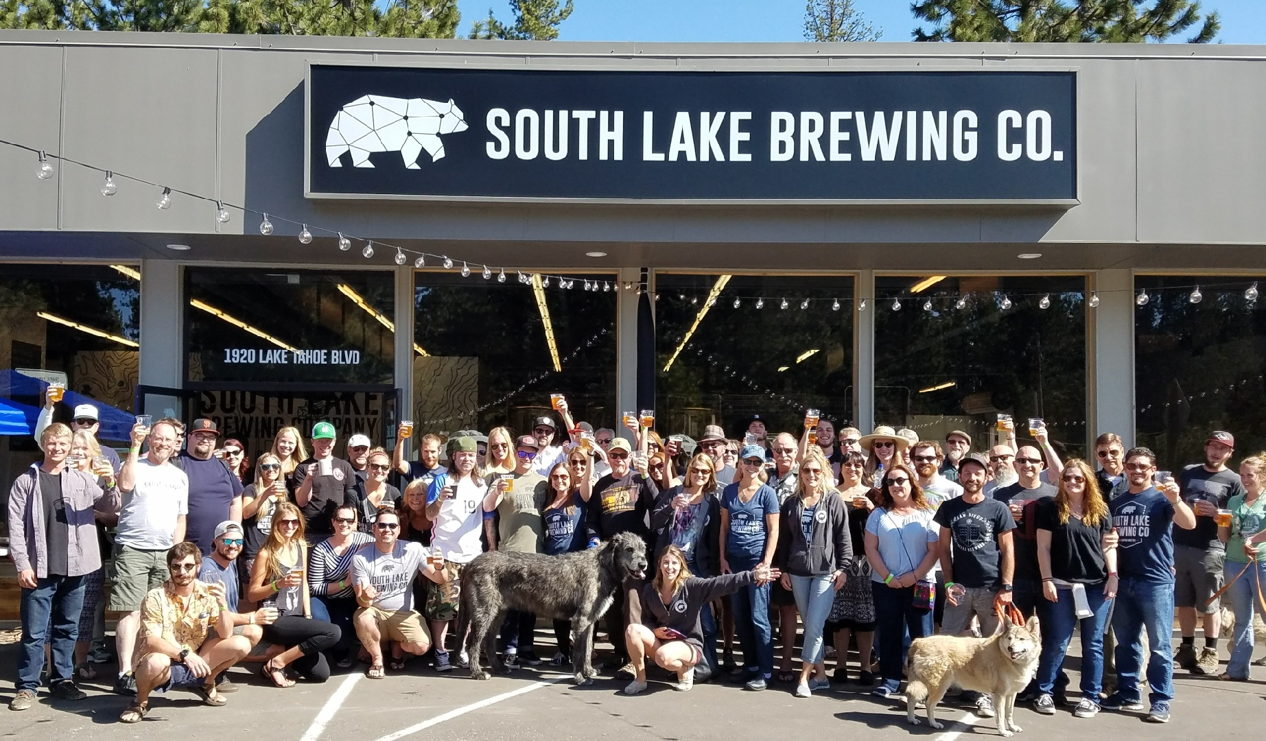 As the brewery becomes a year old, Chris and Nicole's passion for Lake Tahoe and craft beer remains strong and SLBC continues to grow into the community-focused tasting room and production brewery it was meant to be. It takes a village to raise a child - but it takes an entire community to create a brewery!! Chris and Nicole are forever grateful for their awesome staff, investors, family, and friends!