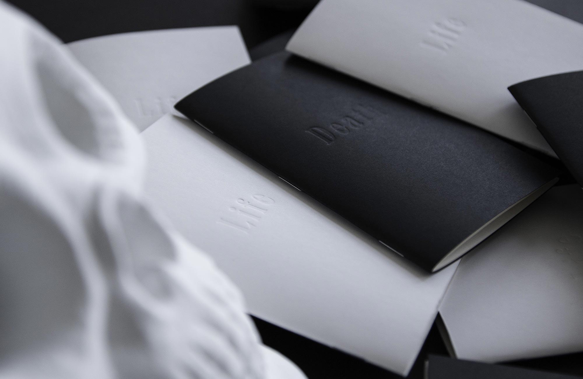 Life & Death design sketchbooks