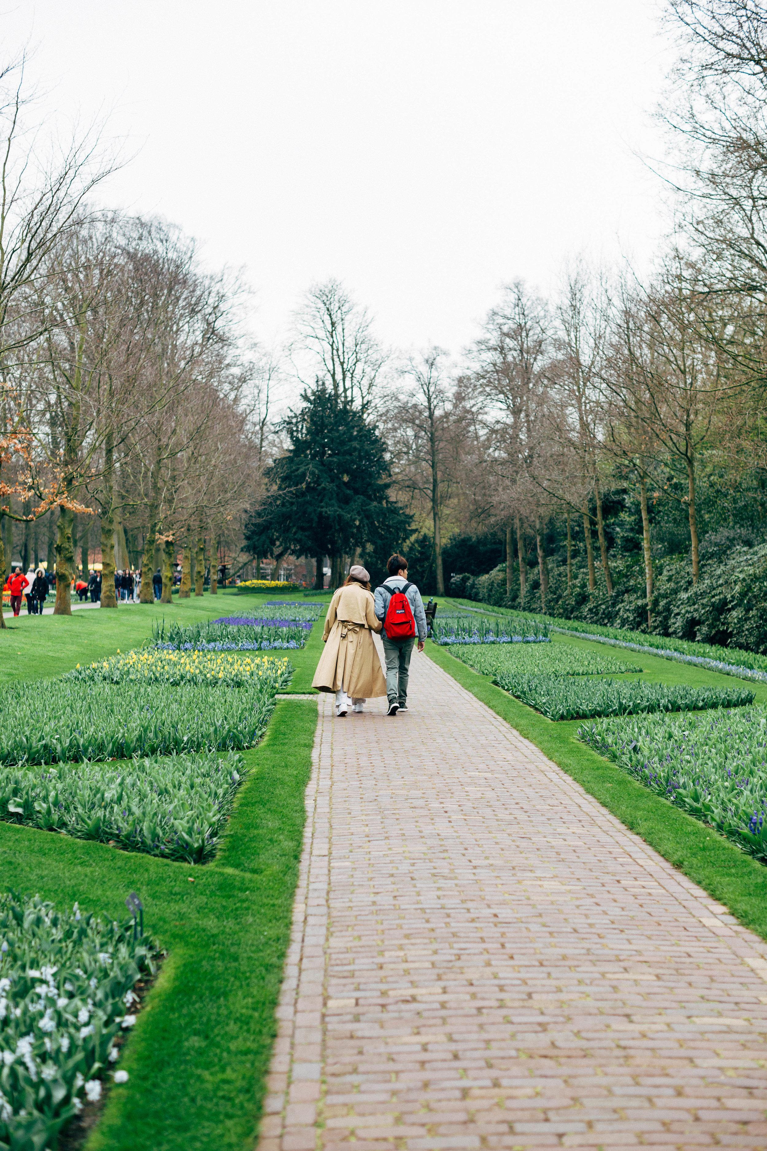 couple-keukenhof-gardens