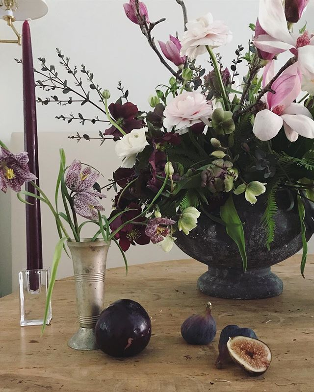 Play with purples and plums🍇 #emilyellisonstudio