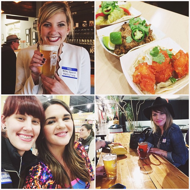 Friends, food, and of course loads of photos! Thank you to everyone who came last night// this Girl.Creative thang is forming right before our eyes & you ladies all play a part in building this wonderful, inspiring community. We love you all more than tacos!! 💕💗 #GirlCreative #whengirlsgetcreative #beers #tacos #community #creativity