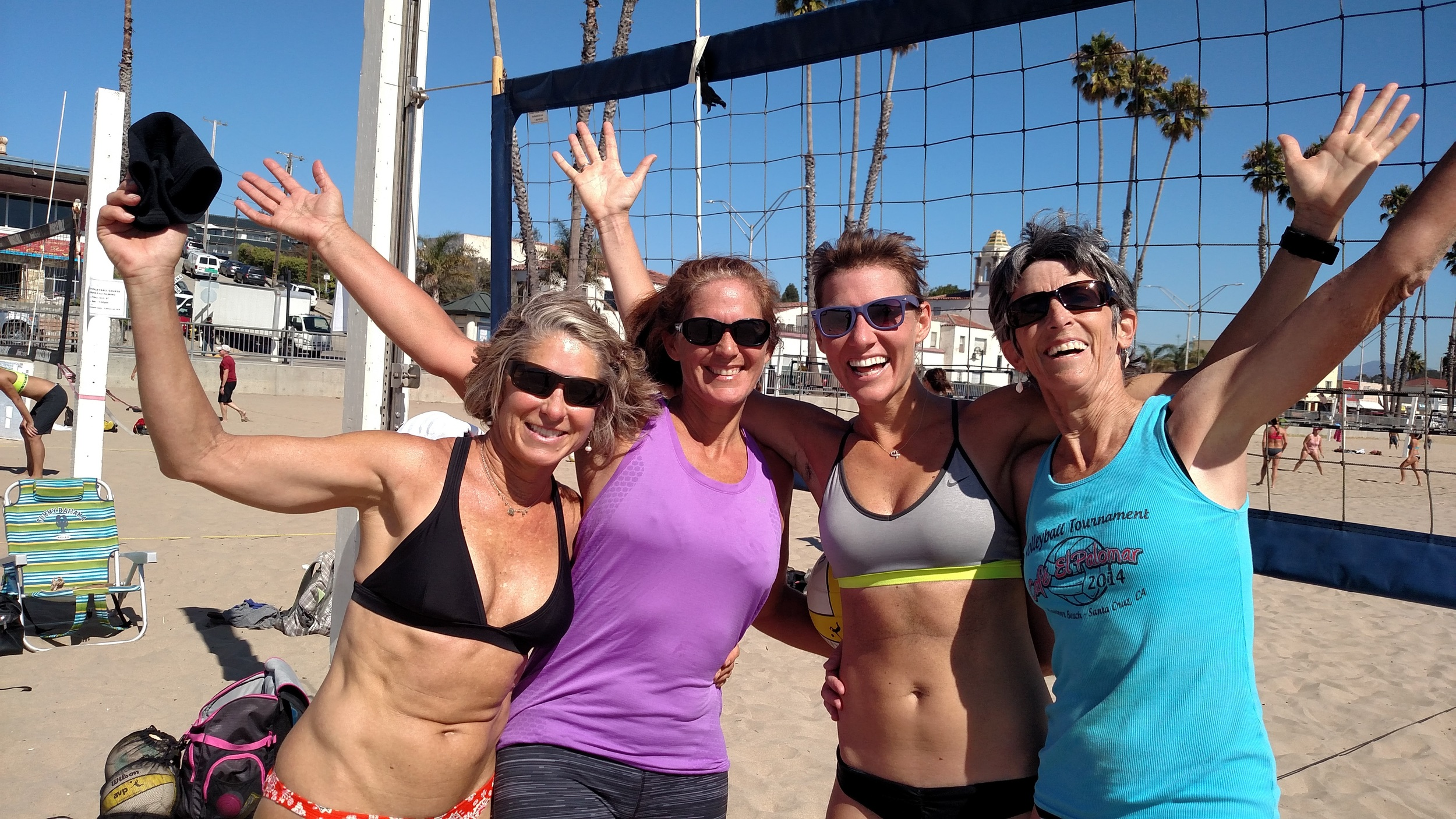 Left to right: Kathy King, Sarah Castro, Debra Robertson, Jackie Signor