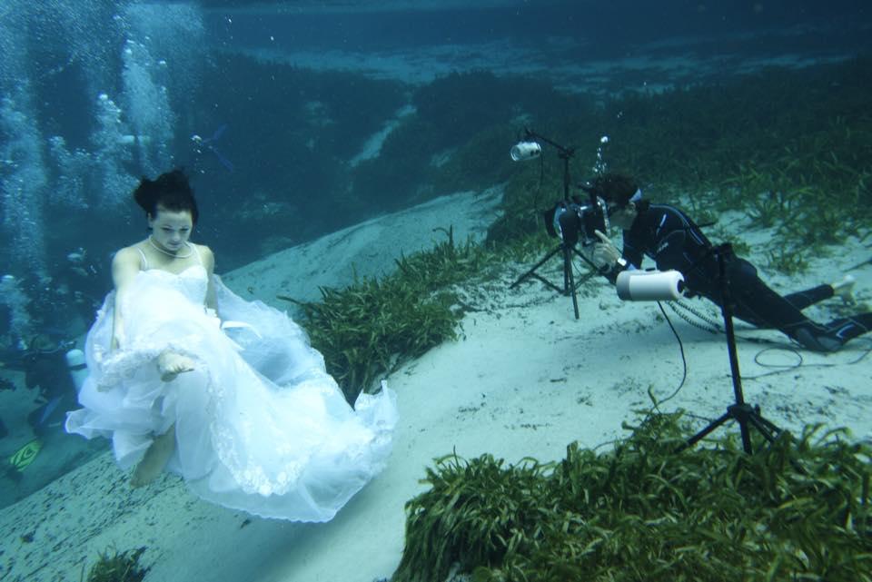 My underwater studio!