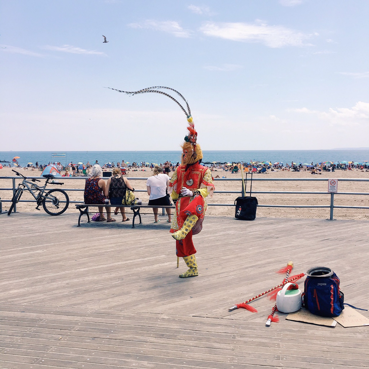 I love Coney Island. Trust me, it's worth it. I've been two (maybe three) times this summer.
