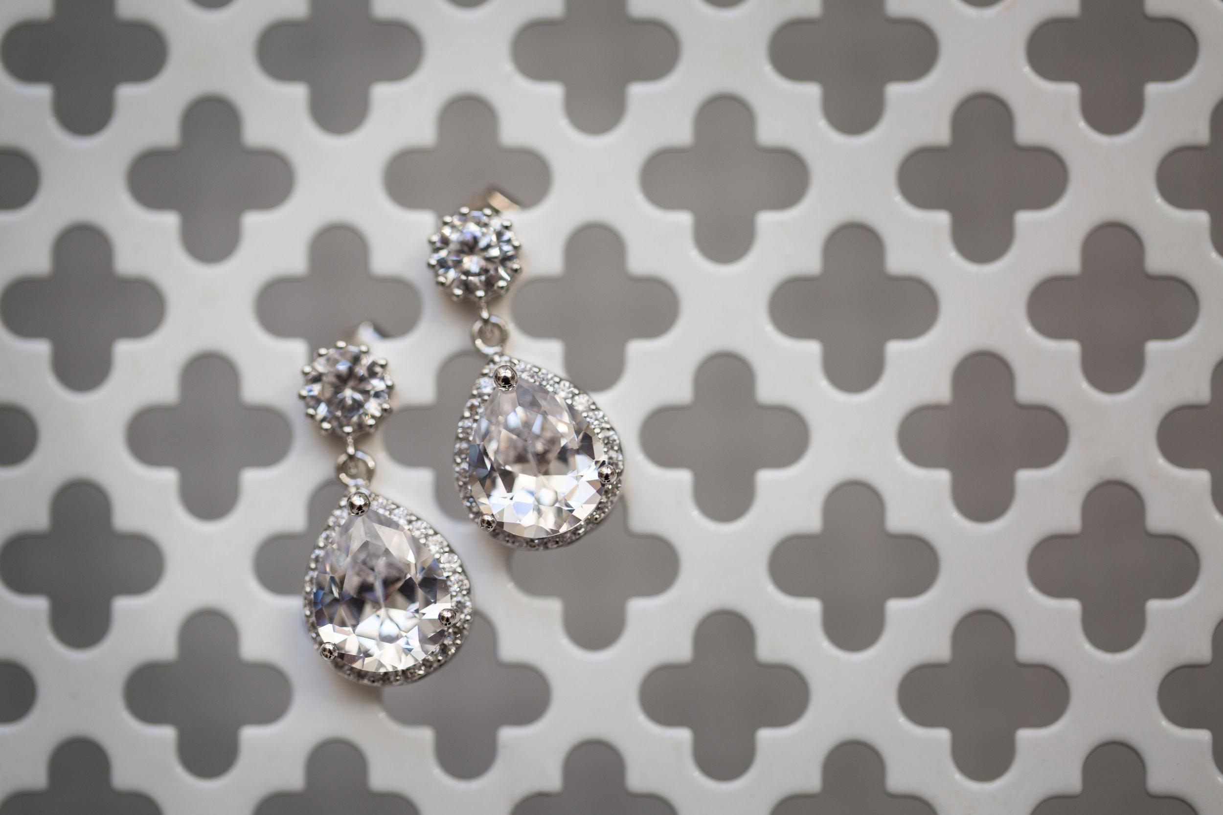 Angie's Wedding Earrings