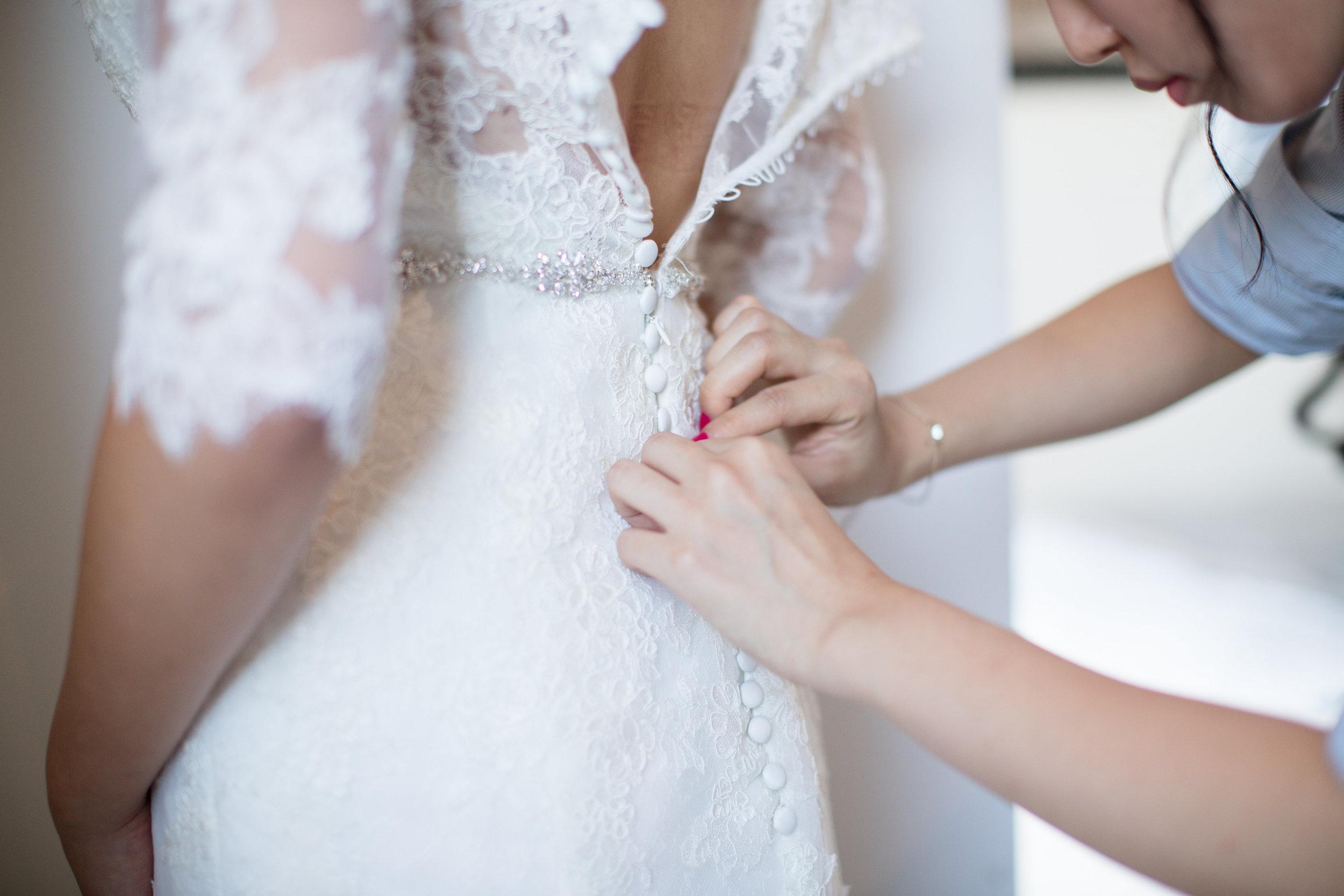 Angie Dress Detail