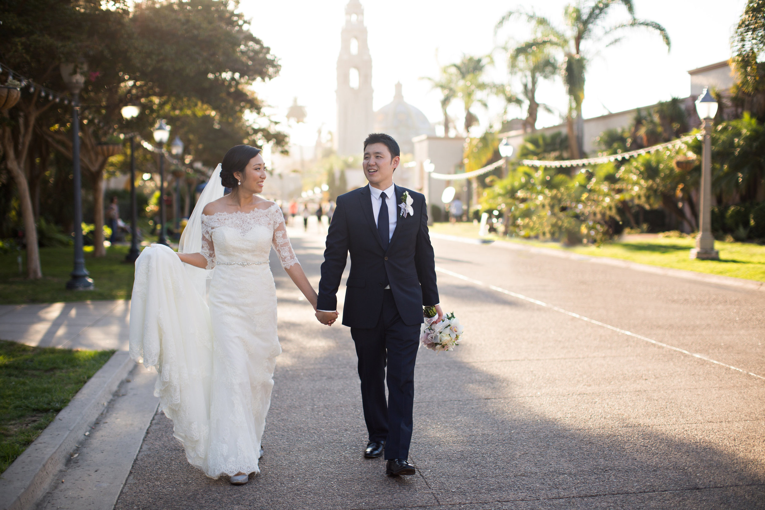 Happily Married at Balboa Park