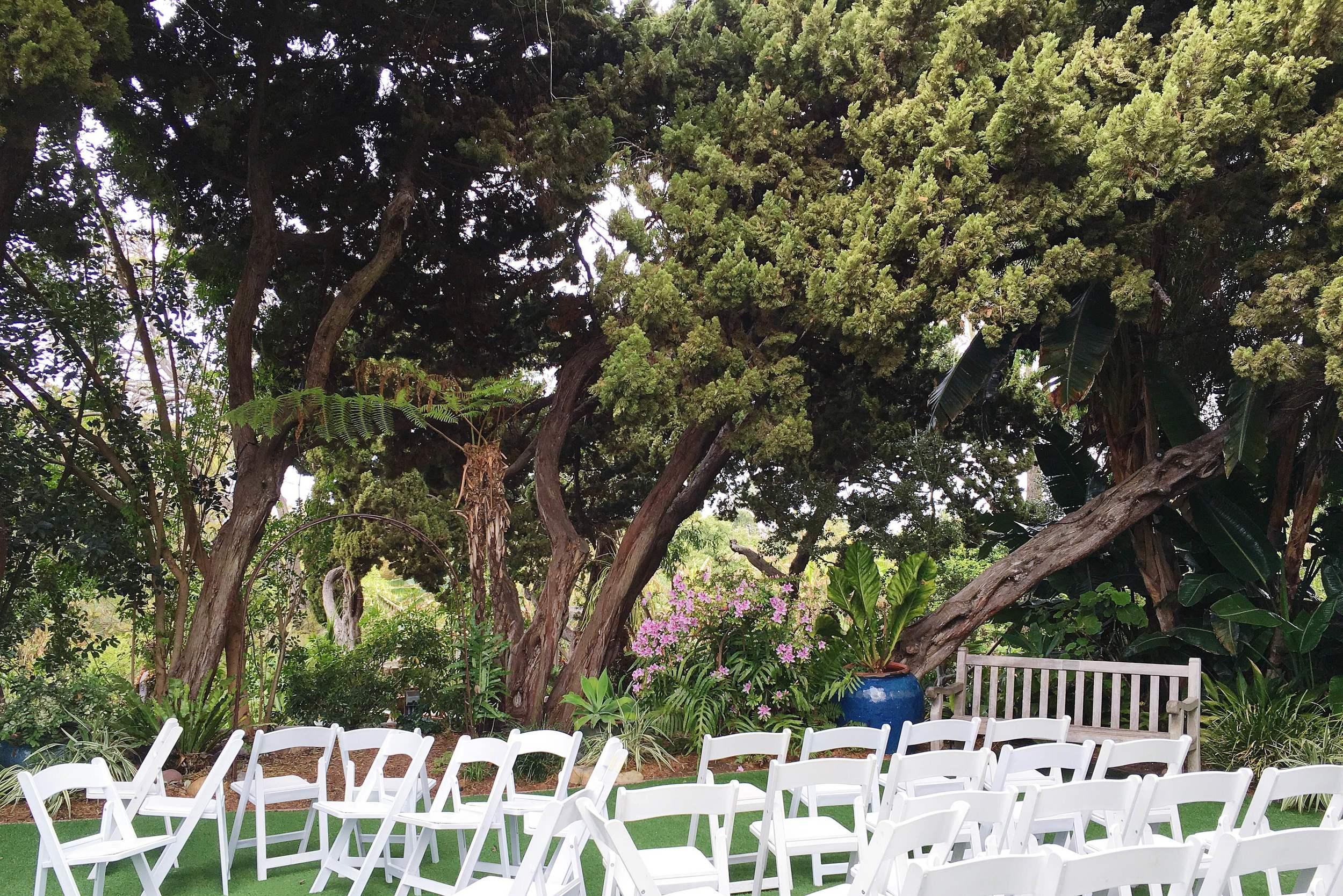 SD Botanic Garden Walled Ceremony
