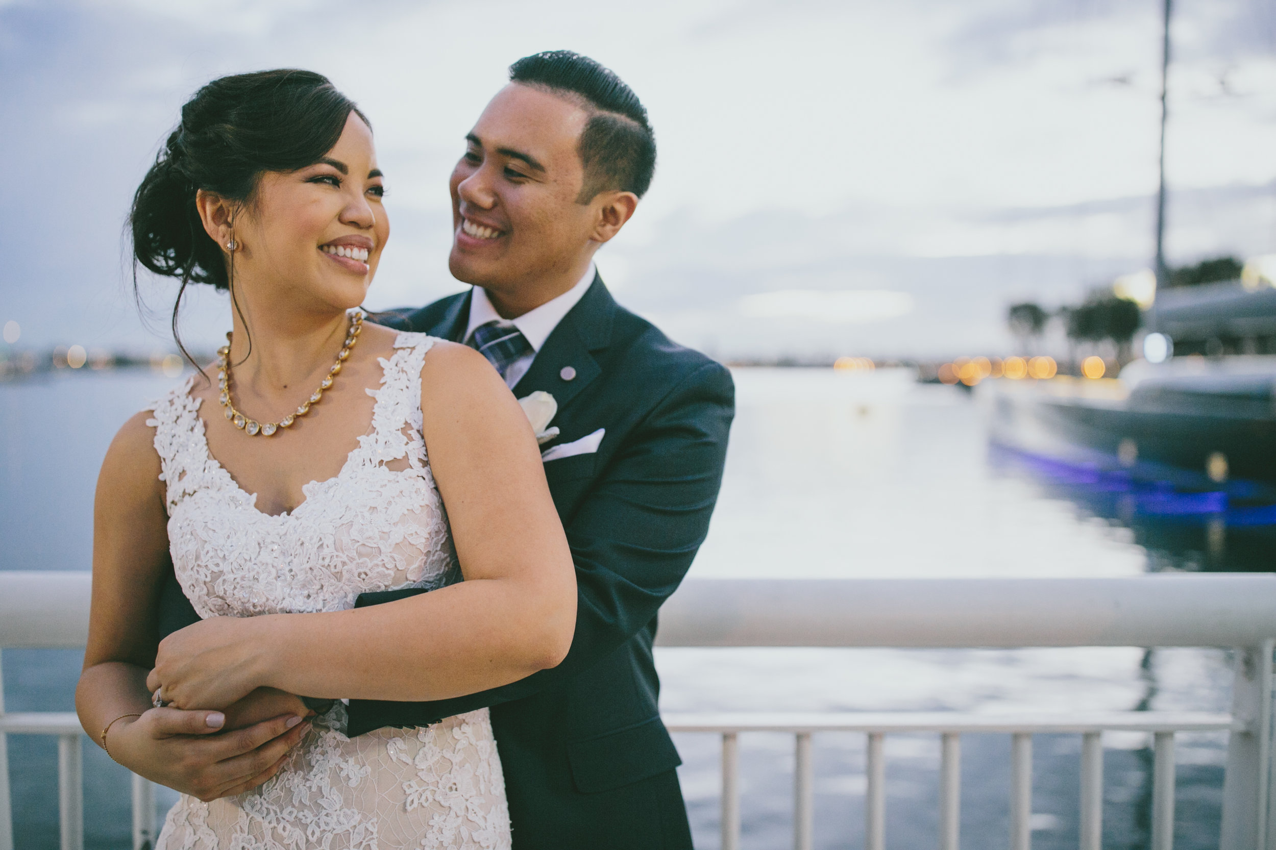 Jenny & Mark - St. Mary's Catholic Church - Tom Ham's Lighthouse  - San Diego, CA