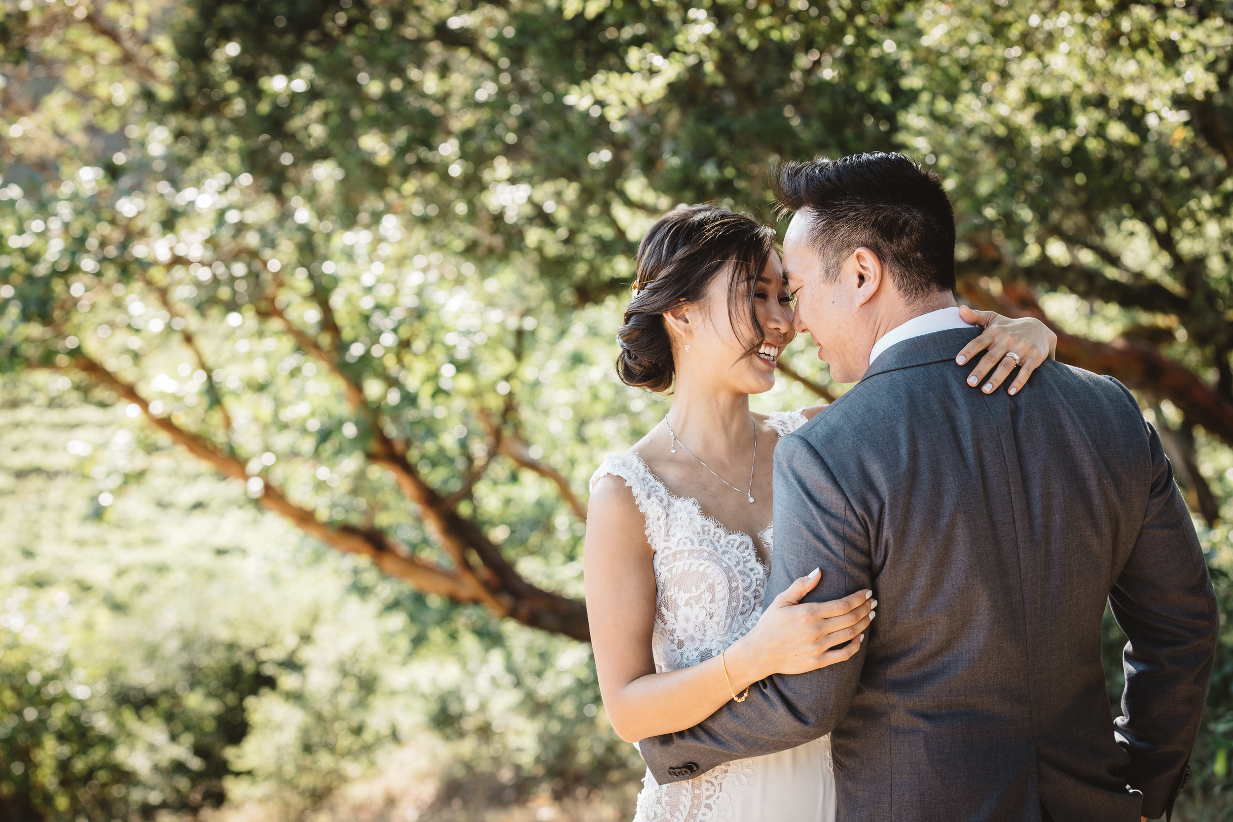 Stephanie & Mike - Thomas Fogarty Winery - San Francisco, CA
