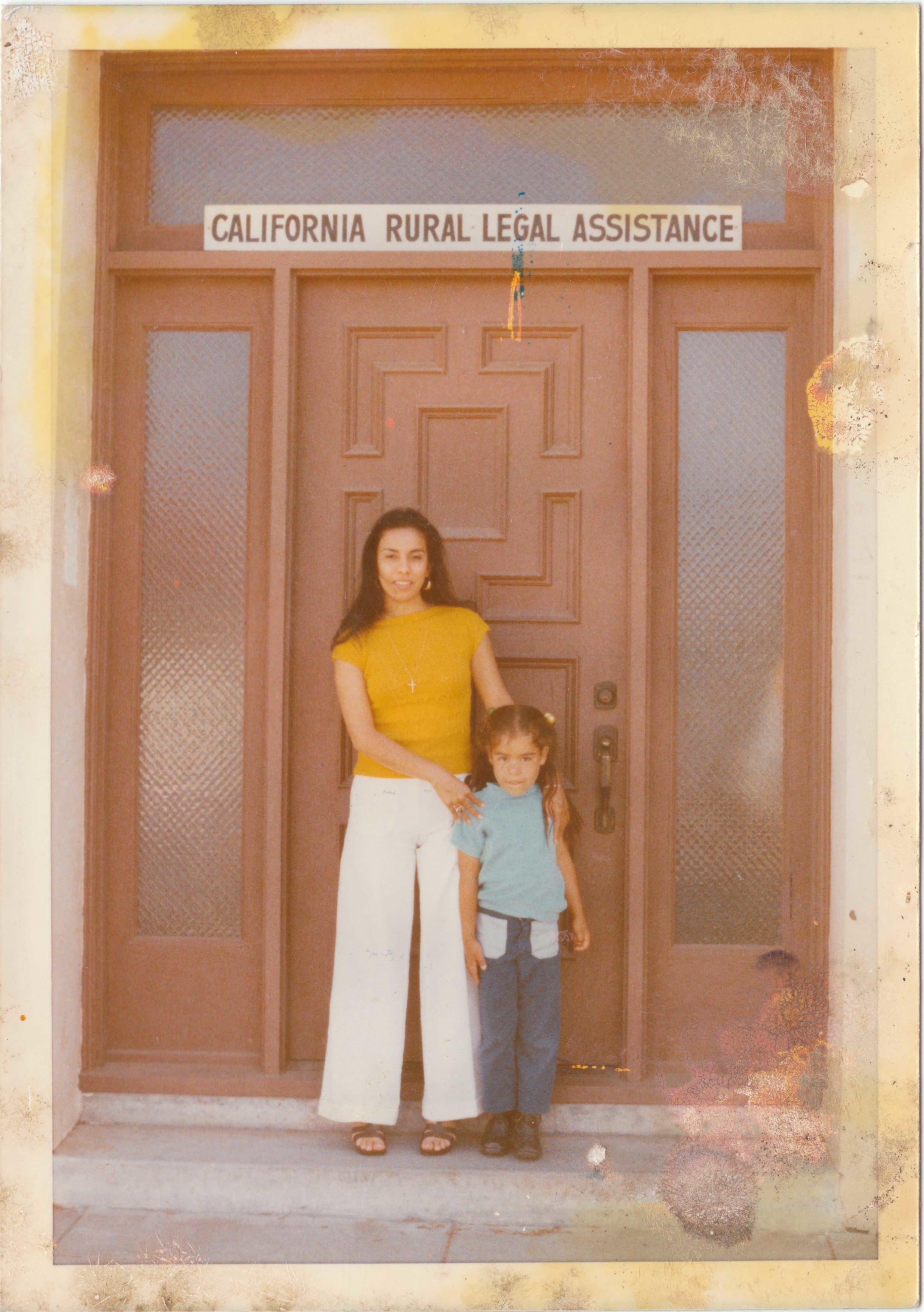 Antonia Hernandez, Law School Summer Job, 1973