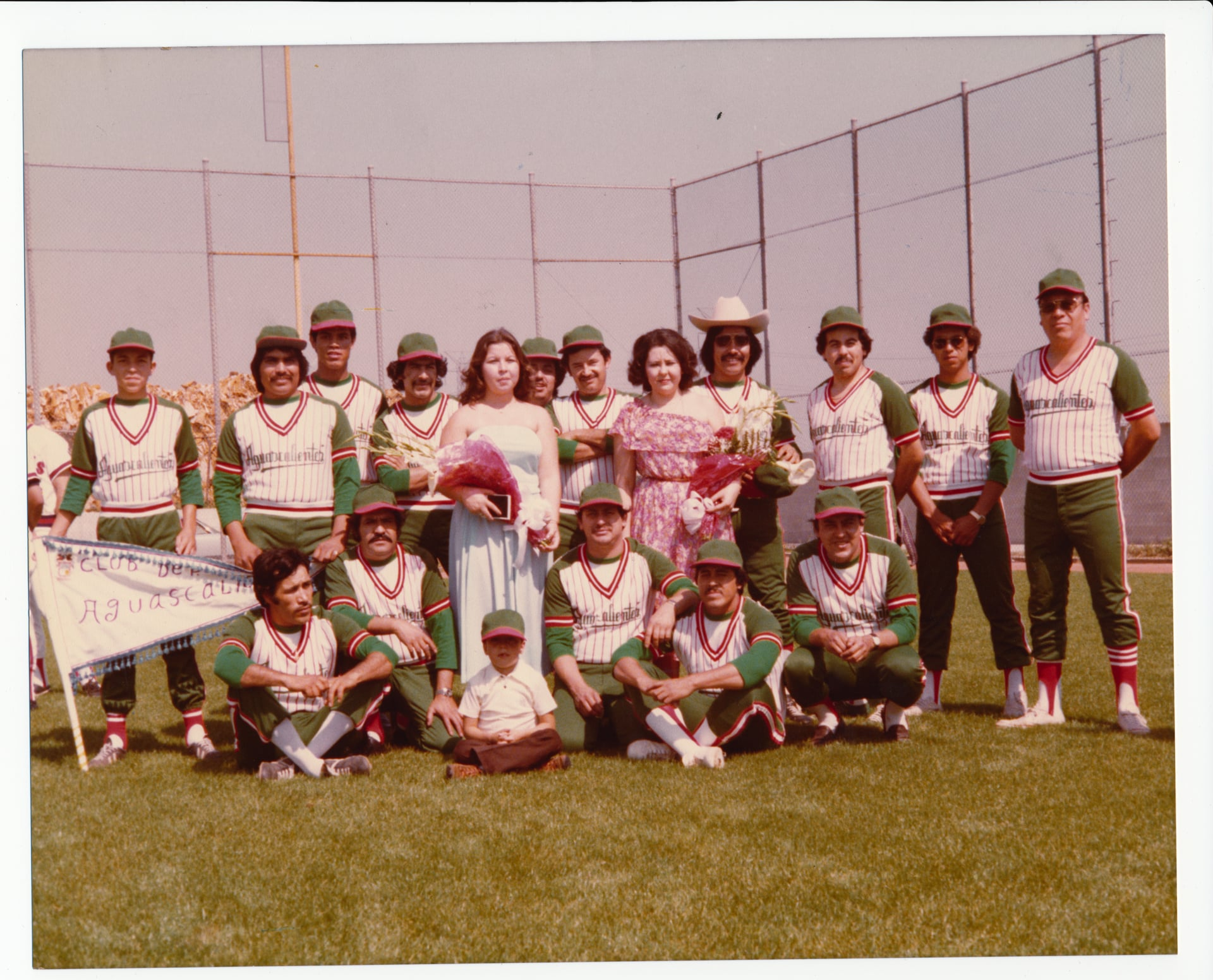 Hurtado Family -- Queen Carol Baseball