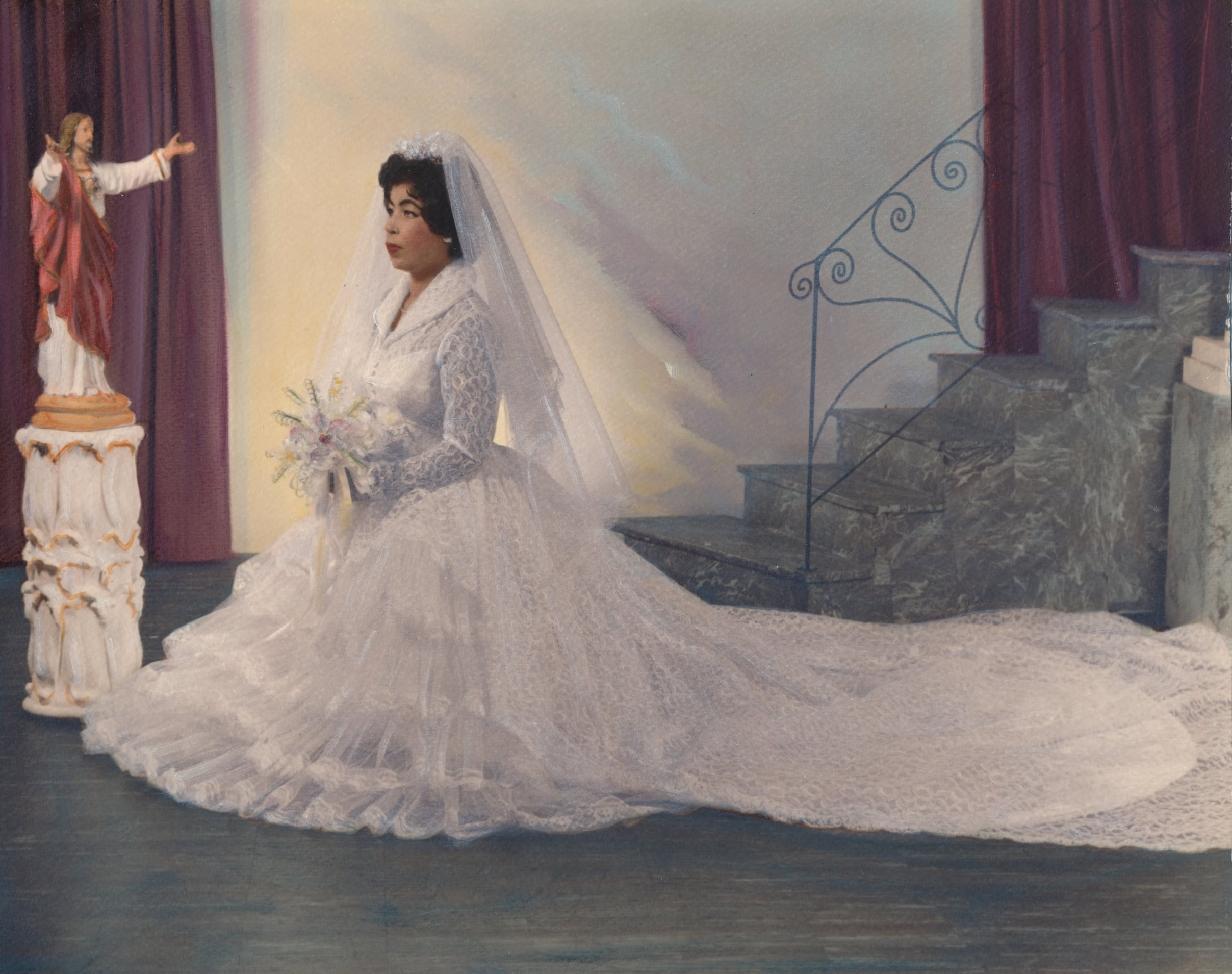 Maria Hurtado wedding photo