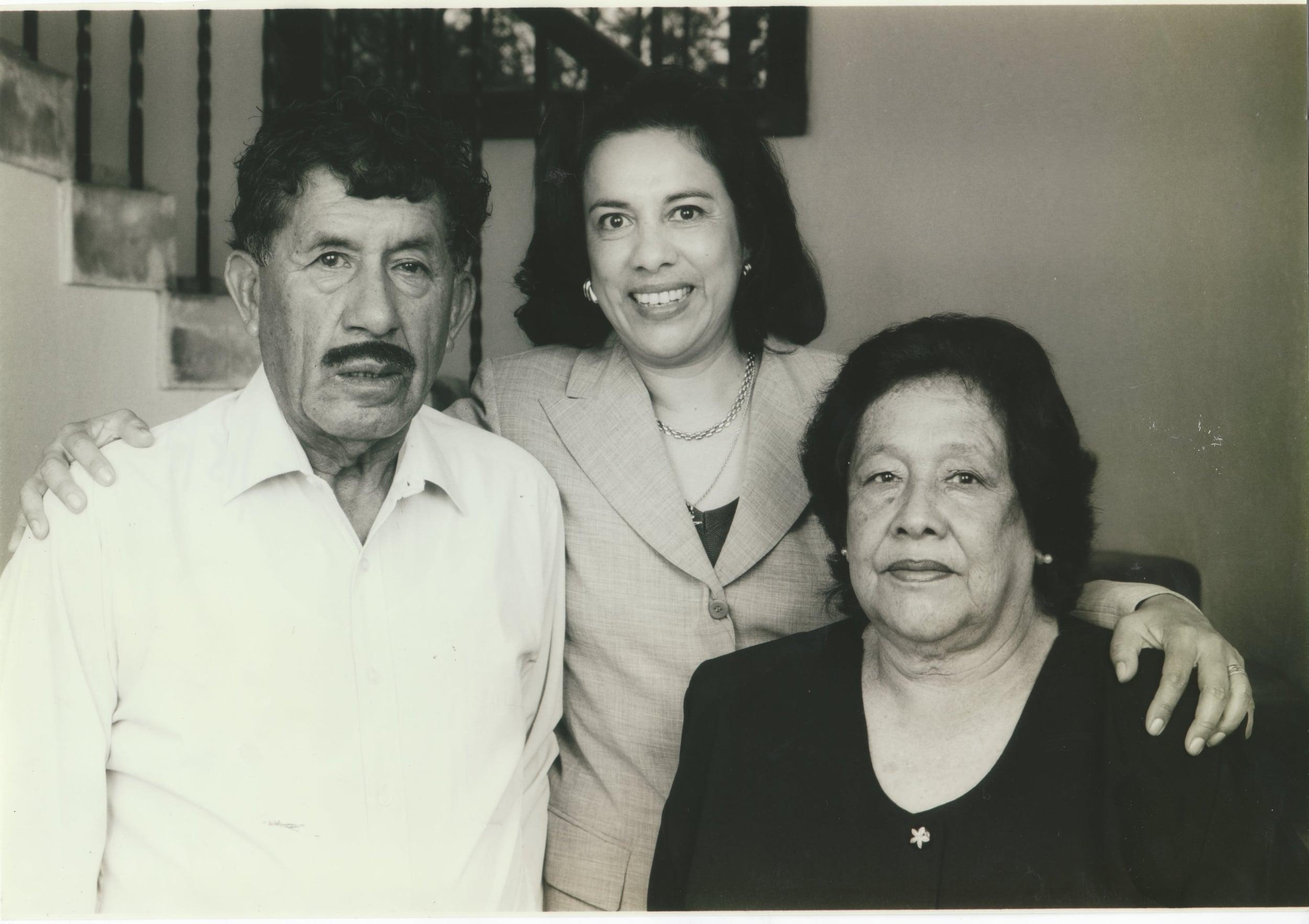 Antonia Hernandez and Parents
