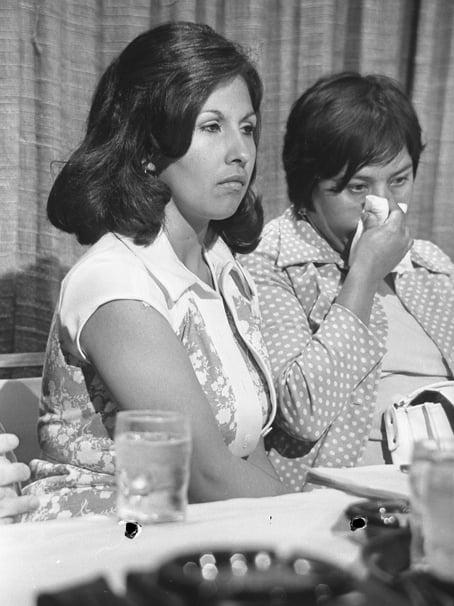 Gloria Molina and Dolores Madrigal