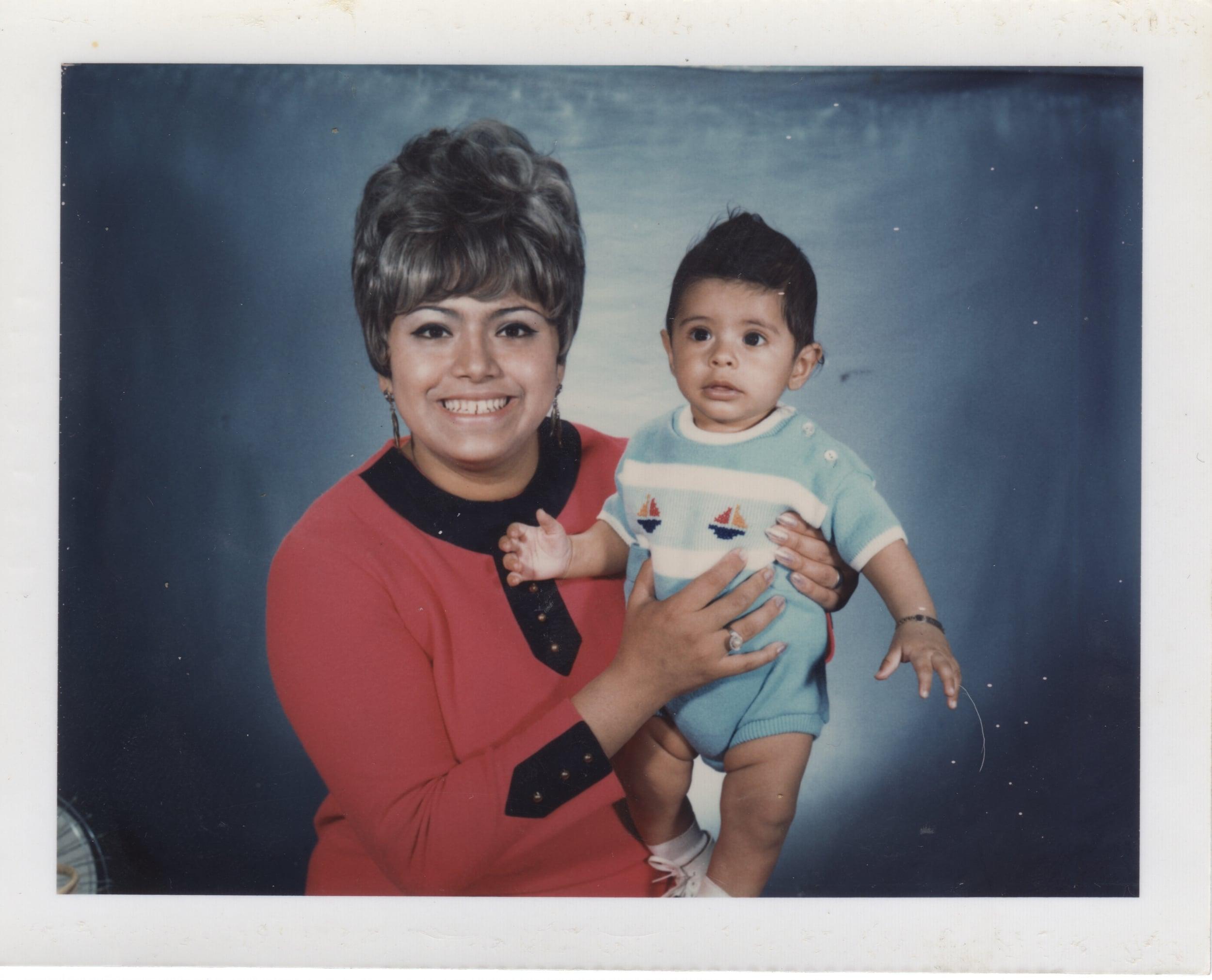 Consuelo Hermosillo and Child