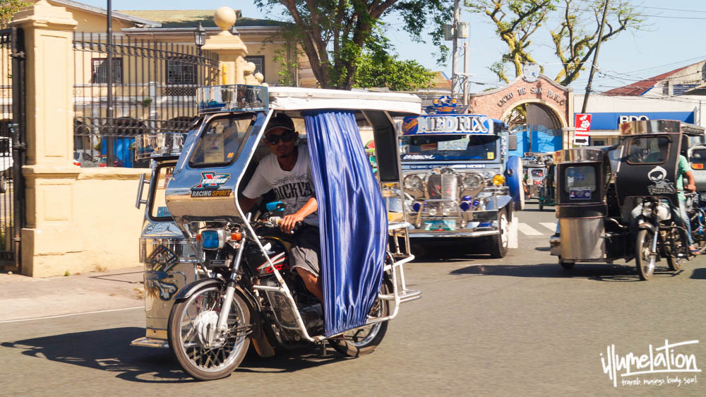 Tricycle Manila Phlippines 2015.