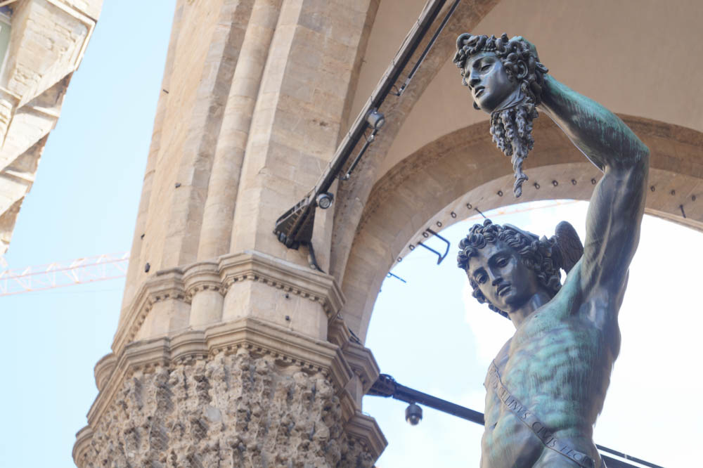 "Benvenuto Cellini's bronze ""Perseus with the Head of Medua"" (1554)"