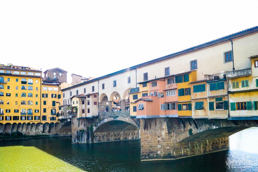 Ponte Vecchio Bridge, Florence, Italy. 2015.
