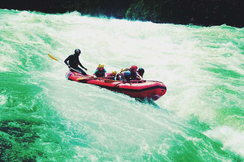 White Water Rafting in Jinja, Uganda. Illumelation 2015.